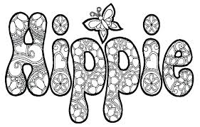 Coloring Pages With Words Printable Adult Coloring Pages Quotes