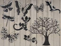 amazing garden wall art idea design sample metal animal erfly tree hanging dragonfly dark outdoor used in uk argo nz b q canva kmart