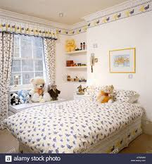 duck-patterned duvet and matching ...