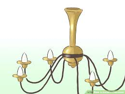 aladdin chandelier lift image titled install a chandelier step 19 how to install aladdin with regard