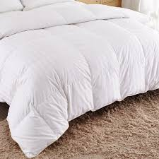 twin goose down comforter. Plain Down Puredown White Goose Down ComforterTwinTwin XLCotton Shell 500TCStripe For Twin Comforter G