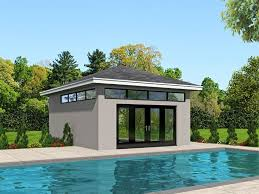 51 best pool house plans images on pool house designs plans