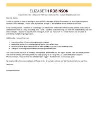 Assistant Manager Cover Letter Samples Brand Sample Project Examples