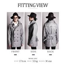 there was the size that trench coat men wool melton double trench coat coat