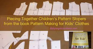 finding your pattern slopers