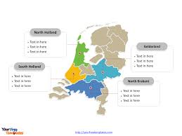 Free Netherlands Powerpoint Map Free Powerpoint Templates