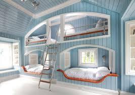 Four Bunk Beds  Interior Paint Colors Bedroom