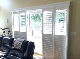 plantation shutter for sliding doors shutters for sliding glass doors asap blinds plantation shutter door another