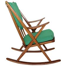 Rocking Chair Modern scandinavian modern rocking chair by frank reenskaug circa 1960 7031 by guidejewelry.us