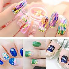 X Nails Glitrové Hologramy1 Mm Zelené Hexagony
