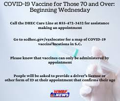 For directions on how to schedule your. What To Know Those In S C 70 And Older Can Schedule Covid 19 Vaccine Appointments Wednesday