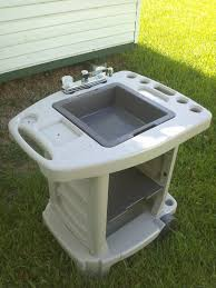 how to make a camping sink awesome amazing outdoor camp kitchen bomelconsult