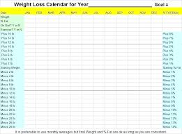 Printable Weight Loss Charts Chart Free And Tracking Covernostra Info