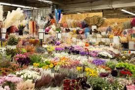 how l a s flower district vendors are