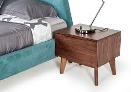 walnut nightstand modern. Simple Modern And Walnut Nightstand Modern