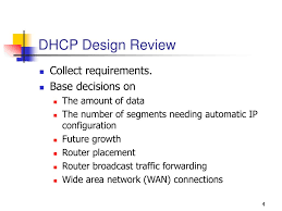 Dhcp Design Ppt Chapter 8 Dhcp In Ip Configuration Designs Powerpoint