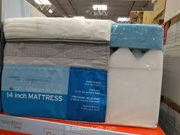novaform mattress topper. novaform comfortgrande gel memory foam mattress costco 2 topper