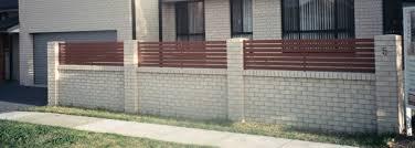 Small Picture Brick Wall Fence Designs markcastroco