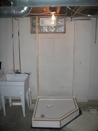 basement shower plumbing diagram