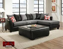 2 piece sectional couch black and gray 2 piece sectional sectional couches national mattress furniture warehouse