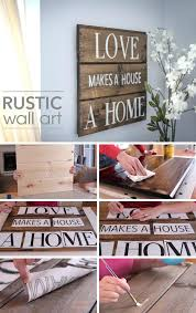 diy wall decor rustic wood wall art diy distressed wood wall decor