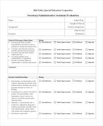 Appraisal Order Form Template Simple Forms On Employee Performance ...