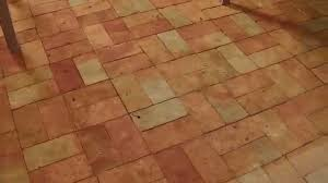 cleaning sealing a brick floor