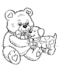 Small Picture Valentines Day Coloring Pages Printable Coloring For Kids 1587