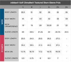 Adidas Polo Size Chart Positive Promotions