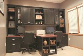 office built in. cool built in office cabinets on diy with t shaped countertop and