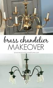 black and brass chandelier black chandelier painted best chandelier makeover ideas on brass chandelier model 9