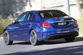 At the front, it featured the specific diamond 3d grille with silver spots and a horizontal bar. Mercedes Amg C43 Long Term Review