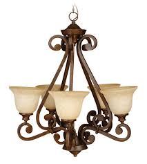 craftmade 9128pr5 toscana 5 light 28 inch peruvian bronze chandelier ceiling light in antique scavo glass