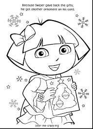 dora mermaid coloring pages page printable surprising with and stunning the friends colori