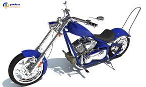 big dog motorcycle model