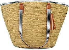 AGNETA <b>Women's</b> Simple and Fashionable <b>Tassel</b> Tote One ...