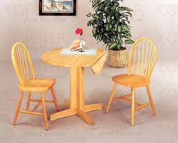 round kitchen table with leaf awesome small drop leaf table and chairs coaster small round dining
