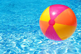 Beach Ball In Water Stock Photo Istock Throughout Ideas