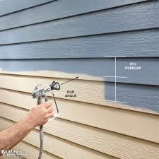 painting vinyl siding a quick tutorial for prep and paint siding replacement exterior house paints and shorts tutorial
