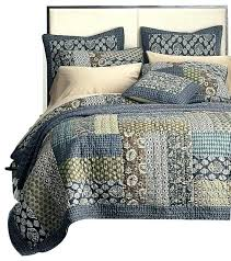 king patchwork quilt size cotton royal chambers fl set cal farmhouse quilts and single cover blue