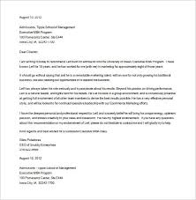 School Reference Letter Template 15 Letters Of Recommendation For