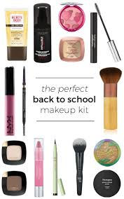 the perfect back to makeup kit including all makeup and brushes