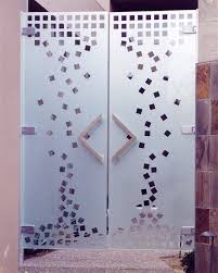Frosted Glass Designs 15 Fantastic Full Glass Frosted Frameless Interior Doors