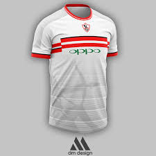 So copy your favorite dream league soccer kit such as home kit, third kit, away kit and also all types of goal keeper kits. Zamalek Jersey