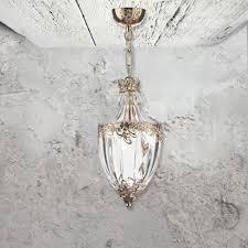 french gold pendant light