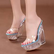 dwayne wedge sandals for women normal size flat with shoes summer 2019 flip flop chaussures femme platform