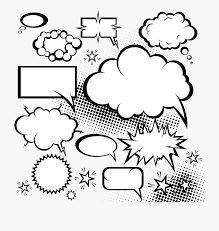 Photoshop Speech Bubble Speech Balloon Comic Book Dialogue Cloud Explosion Comic