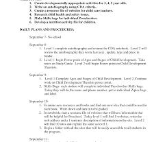 Childcare Resume Sample Daycare Resume Child Care Teacher Assistant Center Director 93