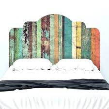 simple wood headboard medium size of and designs ideas headboards queen distressed plans