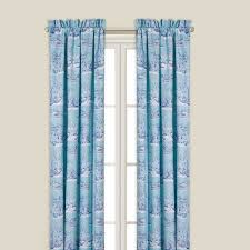 enterprises hampstead toile 84 inch lined curtain panel hampstead toile dry panel